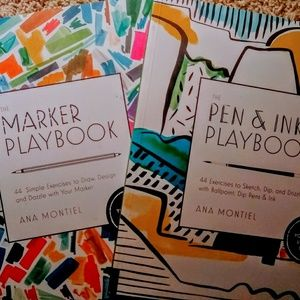 The Pen, Ink, and Marker playbooks